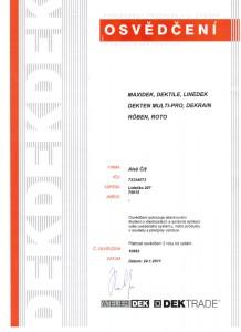 certifikat-maxidek